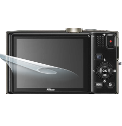 Coolpix S8200 display